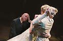 Douglas Hodge,Anastasia Hille,Lauren Wood in A Winter's Tale RSC opens at the Roundhouse on 12/4/02  pic Geraint Lewis