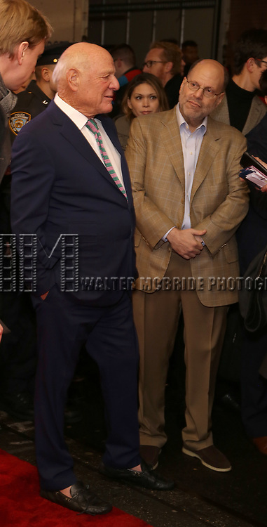 "Barry Diller and Scott Rudin attends the Broadway Opening Night Performance of ""To Kill A Mockingbird"" on December 13, 2018 at The Shubert Theatre in New York City."