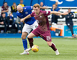 Queen of the South v St Johnstone&hellip;18.08.18&hellip;  Palmerston    BetFred Cup<br />Liam Craig and Gary Harkins<br />Picture by Graeme Hart. <br />Copyright Perthshire Picture Agency<br />Tel: 01738 623350  Mobile: 07990 594431