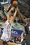 MADRID, Spain (19/01/11). Euroliga de baloncesto. Partido 1 del top 16, grupo G. Euroleague Basketball, Game 1 Top 16, Group G. Real Madrid vs Partizan MT:S..Novica Velickovic...©Raul Perez .