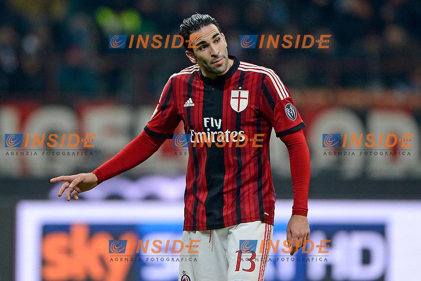 Adil Rami Milan<br /> Milano 27-01-2015 Stadio Giuseppe Meazza - Football Calcio Coppa Italia Milan - Lazio. Foto Giuseppe Celeste / Insidefoto