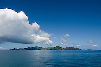 Seychelles, Island Praslin at Indian Ocean<br />