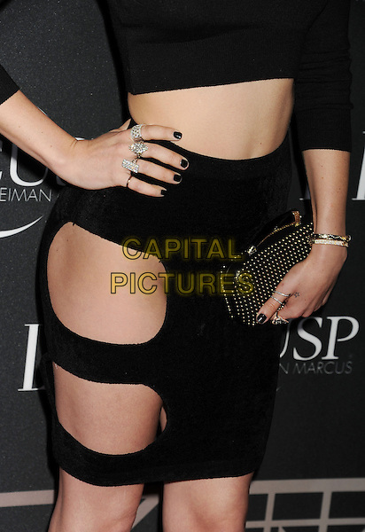 HOLLYWOOD, CA- APRIL 22: Actress Rumer Willis (handbag, ring, bracelet detail) at ELLE's 5th Annual Women In Music concert celebration at Avalon on April 22, 2014 in Hollywood, California.<br /> CAP/ROT/TM<br /> &copy;Tony Michaels/Roth Stock/Capital Pictures