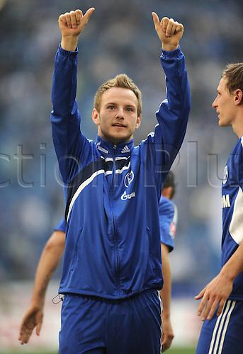 17 04 2010  2 17 04 2010 Football Season 2009 2010 1 Bundesliga 31 Matchday FC Schalke 04 Borussia Moenchengladbach Season 2009 2010 Ivan Rakitic FC Schalke 04  2010 Gelsenkirchen