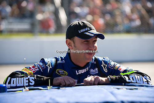 Oct 19, 2008; 12:28:22 PM;  Martinsville, VA, USA; NASCAR Sprint Cup Series race at the Martinsville Speedway for the TUMS Quick Pak 500.  Mandatory Credit: (thesportswire.net)