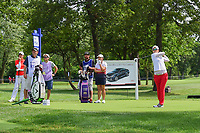 Jeong Eun Lee (KOR) watches her tee shot on 17 during Thursday's round 1 of the 2017 KPMG Women's PGA Championship, at Olympia Fields Country Club, Olympia Fields, Illinois. 6/29/2017.<br /> Picture: Golffile | Ken Murray<br /> <br /> <br /> All photo usage must carry mandatory copyright credit (&copy; Golffile | Ken Murray)
