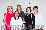 Sharon MacTndoe, Helen Mulrooney, Louise Gaughran, Sheila Riordan and Karen Crossley at the Fauwlty Towers Womens Christmas in the Brehon Hotel on Saturday night