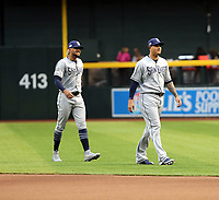 Fernando Tatis Jr (left), Manny Machado (right) - 2019 San Diego Padres (Bill Mitchell)