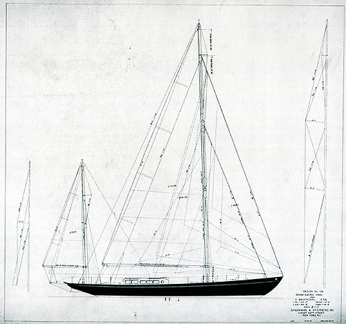 The 54ft Zeearand was Sparkman & Stephens first proper European design commission