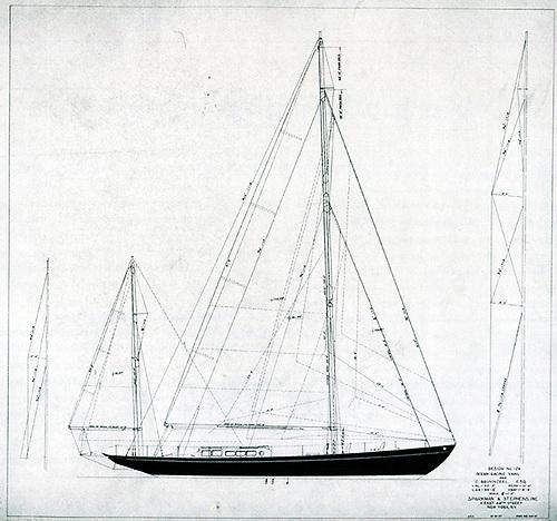 The 54ft Zeearand was Sparkman & Stephens first proper European design commission