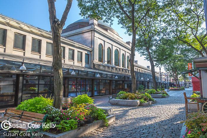 Quincy Market at Faneuil Hall Marketplace, Boston, Massachusetts, USA