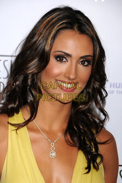 KATIE CLEARY.22nd Annual Genesis Awards at the Beverly Hilton Hotel, Beverly Hills, California, USA..March 29th, 2008.headshot portrait necklace .CAP/ADM/BP.©Byron Purvis/AdMedia/Capital Pictures.