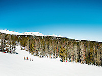 Skiing in Breckenridge, Colorado, Thursday, March 22, 2012...Photo by Matt Nager