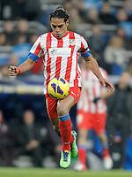 Atletico de Madrid's Radamel Falcao during La Liga Match. December 02, 2012. (ALTERPHOTOS/Alvaro Hernandez)