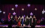 Will and Anthony Nunziata, Bayla Whitten, Laura Osnes, Luke S. Frazier, Lindsay Mendez, Lucia Spina, Amber Iman and Fran Drescher performing in The American Pops Orchestra '75 Years of Streisand'  at the George Washington University Lisner Auditorium on January 13, 2017 in New York City.