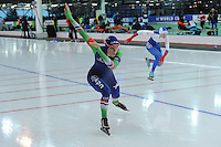 SPEED SKATING: STAVANGER: Sørmarka Arena, 29-01-2016, ISU World Cup, 500m Ladies Division A, Janine Smit (NED), ©photo Martin de Jong
