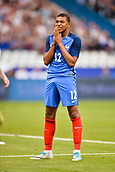 June 13th 2017, Stade de France, Paris, France; International football friendly, France versus England;  KYLIAN MBAPPE (fra) rues his miss