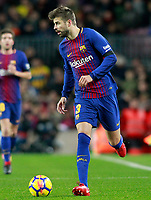 FC Barcelona's Gerard Pique during La Liga match. December 17,2016. (ALTERPHOTOS/Acero)