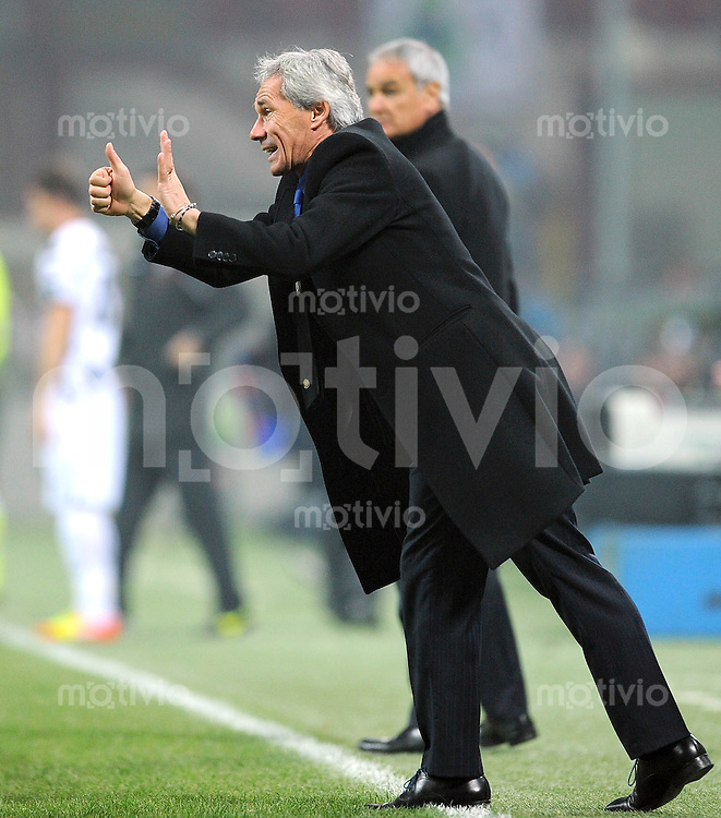 FUSSBALL INTERNATIONAL   SERIE A   SAISON 2011/2012    Inter Mailand - Udinese Calcio   03.12.2011 Trainer Claudio Ranieri (Inter Mailand)