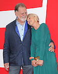 Taylor Hackford and Helen Mirren at The Summit Entertainment L.A. Premiere of RED 2 held at Westwood Village in Westwood, California on July 11,2013                                                                   Copyright 2013 Hollywood Press Agency