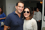 Nick Grouf, Georgeanne Carras==<br /> LAXART 5th Annual Garden Party Presented by Tory Burch==<br /> Private Residence, Beverly Hills, CA==<br /> August 3, 2014==<br /> &copy;LAXART==<br /> Photo: DAVID CROTTY/Laxart.com==