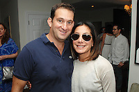 Nick Grouf, Georgeanne Carras==<br /> LAXART 5th Annual Garden Party Presented by Tory Burch==<br /> Private Residence, Beverly Hills, CA==<br /> August 3, 2014==<br /> ©LAXART==<br /> Photo: DAVID CROTTY/Laxart.com==