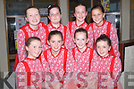 SETS DANCING: The Glenflesk/Kilgarvan who were over the moon with their performance in the Ceili? Dancing in Causeway Comprehensive School on Friday evening De hAoine 27U?Bealtaine 2011, Front l-r: Aoife CRoonin, Siobhan Dillon, Keely Randles and Aoife Kelliher. Back l-r: Mary O'Sullivan, Mary Foley, Dannielle Reidy, Christine O'Carroll....
