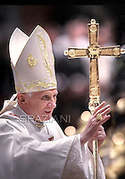 Pope Benedict XVI Eucharist   Latin America countries in memory of the Lady of Guadelupe.Dec.12,2011