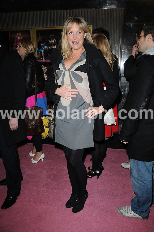 **ALL ROUND PICTURES FROM SOLARPIX.COM**.**WORLDWIDE SYNDICATION RIGHTS**.Legally Blonde - press night photocall at The Savoy Theatre, London, UK. 13 January 2010..This pic: Kim Metcalfe..JOB REF: 10461 MSR    DATE: 13_01_2010.**MUST CREDIT SOLARPIX.COM OR DOUBLE FEE WILL BE CHARGED**.**MUST NOTIFY SOLARPIX OF ONLINE USAGE**.**CALL US ON: +34 952 811 768 or LOW RATE FROM UK 0844 617 7637**