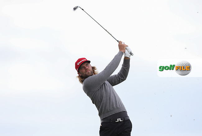 Johan Carlsson (SWE)  during Round Three of the 2015 Aberdeen Asset Management Scottish Open, played at Gullane Golf Club, Gullane, East Lothian, Scotland. /11/07/2015/. Picture: Golffile | David Lloyd<br /> <br /> All photos usage must carry mandatory copyright credit (&copy; Golffile | David Lloyd)