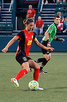 Rochester, NY - Friday May 27, 2016: Western New York Flash defender Abby Erceg (6). The Western New York Flash defeated the Boston Breakers 4-0 during a regular season National Women's Soccer League (NWSL) match at Rochester Rhinos Stadium.