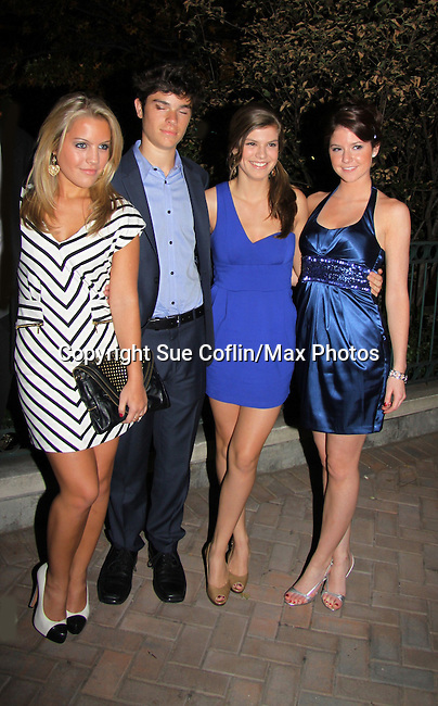 One Life To Live's  Kristen Alderson, Eddie Alderson, Kelley Missal and Brittany Underwood attend ABC Daytime Soap Casino Night with the Stars on October 28, 2010 at Guastavinos, New York City, New York. (Photo by Sue Coflin/Max Photos).................................... attend ABC Daytime Soap Casino Night with the Stars on October 28, 2010 at Guastavinos, New York City, New York. (Photo by Sue Coflin/Max Photos)
