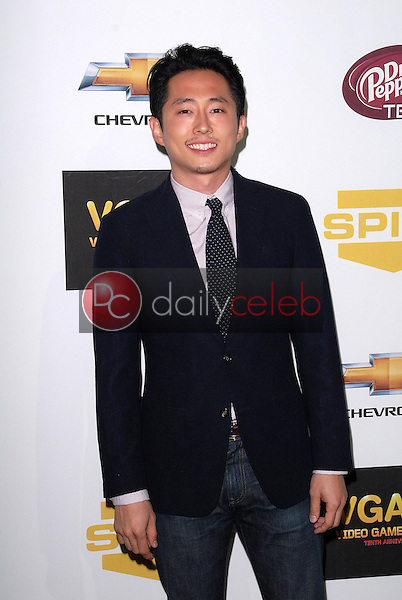 Steven Yeun<br /> at Spike TV`S Video Game Awards 2012, Sony Pictures Studios, Culver City, CA 12-07-12<br /> David Edwards/DailyCeleb.com 818-249-4998