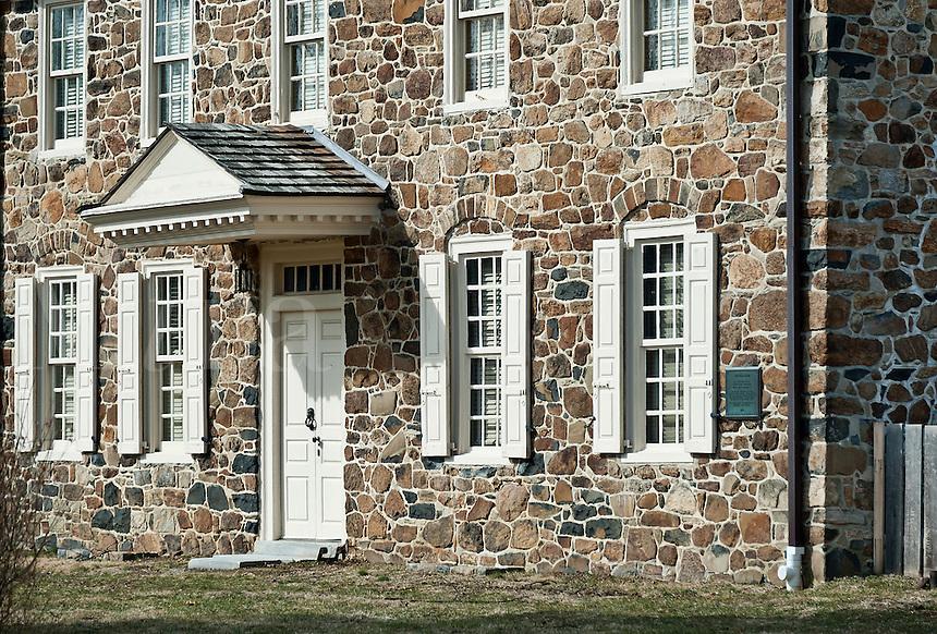 Historic Waynesboro, home of Major General Anthony Wayne, 1745-1796, Paoli, Pennsylvania, PA, USA