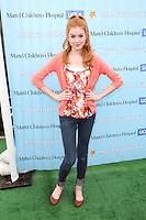 SANTA MONICA, CA - OCTOBER 21:  Katherine McNamara at the Mattel Party On The Pier Benefiting Mattel Children's Hospital UCLA - Red Carpet at Pacific Park at Santa Monica Pier on October 21, 2012 in Santa Monica, California. © mpi20/MediaPunch Inc. /NortePhoto