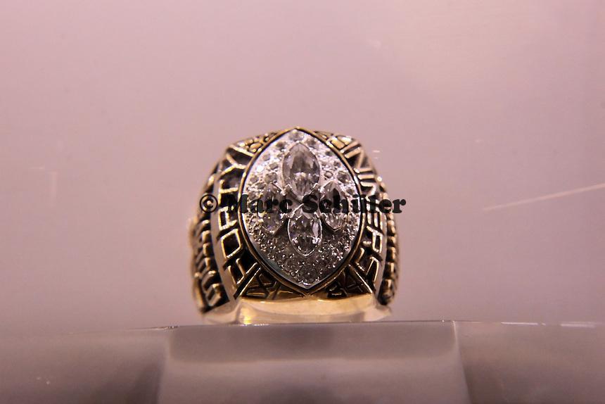 Super Bowl Ringe der einzelnen Siegerteams: XXIV San Francisco 49ers - 1989