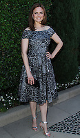 BEVERLY HILLS, CA - SEPTEMBER 29: Actress Emily Deschanel arrives at The Rape Foundation's Annual Brunch at Greenacres - The Private Estate of Ron Burkle on September 29, 2013 in Beverly Hills, California. (Photo by David Acosta/Celebrity Monitor)