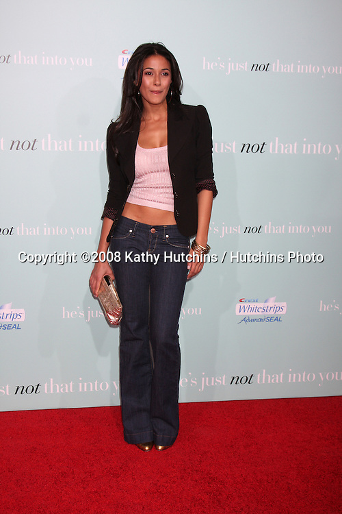 "Emmanuelle Chriqui arriving  at  the Premiere of ""He's Just Not That Into You"" in Los Angeles, CA on .February 2, 2009.©2008 Kathy Hutchins / Hutchins Photo.."