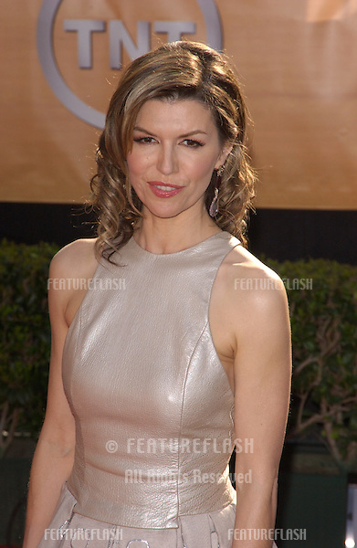 Feb 06, 2005: Los Angeles, CA: FINOLA HUGHES at the 11th Annual Screen Actors Guild Awards at the Shrine Auditorium.