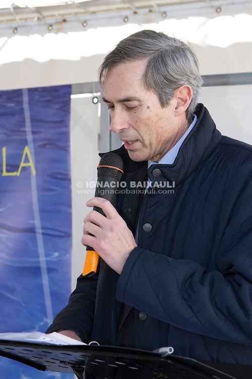 Toma la palabra, el presidente de la FVCV, José Martínez David GRAN FIESTA DE LA VELA VALENCIANA 2009 - Federación de Vela de la Comunidad Valenciana. 7/2/2009 Real Club Náutico de Valencia