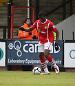 Mathias Pogba of Wrexham during the Blue Square Bet Premier match between Cambridge United and Wrexham at the Abbey Stadium, Cambridge on 22nd January, 2011 .© Kevin Coleman 2011
