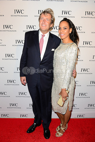 MIAMI BEACH, FL - DECEMBER 03: Goodwin Croonenberghs and Barbara Becker attends IWC Schaffhausen celebrates 'Timeless Portofino' Gala Event during Art Basel Miami Beach to mark the Launch of the new Portofino Midsize Watch Collection at The W Hotel South Beach on December 3, 2014 in Miami Beach, Florida.  Credit: MPI10 / MediaPunch