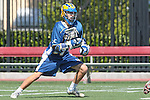 Orange, CA 05/01/10 - Kevin Bowles (UCSB # 16) in action during the UC Santa Barbara-Arizona State MCLA SLC semi-final game in Wilson Field at Chapman University.  Arizona State advanced to the final by defeating UC Santa Barbara 13-9.