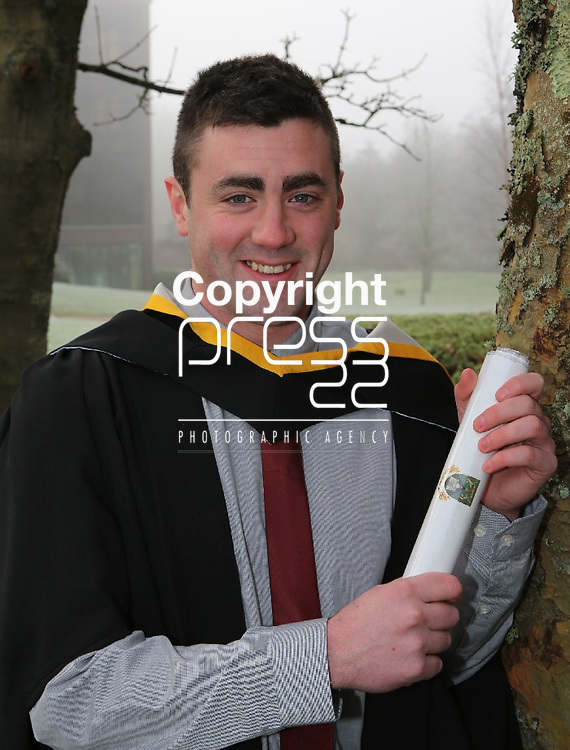 22/1/2013   (REPRO FREE) Photographed at the University of Limerick confer rings this Tuesday was Shane Joy, Ballybunion Co. Kerry conferred with an MA HR Management. Photograph Liam Burke/Press 22