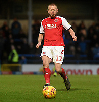Fleetwood Town's Paddy Madden<br /> <br /> Photographer Hannah Fountain/CameraSport<br /> <br /> The EFL Sky Bet League One - Rochdale v Fleetwood Town - Saturday 19 January 2019 - Spotland Stadium - Rochdale<br /> <br /> World Copyright © 2019 CameraSport. All rights reserved. 43 Linden Ave. Countesthorpe. Leicester. England. LE8 5PG - Tel: +44 (0) 116 277 4147 - admin@camerasport.com - www.camerasport.com