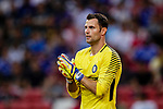 FC Internazionale Goalkeeper Daniele Padelli gestures during the International Champions Cup 2017 match between FC Internazionale and Chelsea FC on July 29, 2017 in Singapore. Photo by Marcio Rodrigo Machado / Power Sport Images