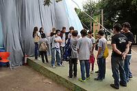 RIO DE JANEIRO-31 DE MAIO DE 2012-GREEN NATION FEST-Abertura do evento Green Nation Fest, o evento usará cinema, educacao, esporte, moda e muita interatividade para falar de meio ambiente e sustentabilidade, na Quinta da Boa Vista, zona norte do Rio.Foto:Marcelo Fonseca-Brazil Photo Press