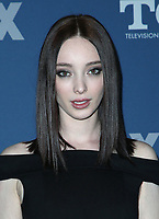 04 January 2018 - Pasadena, California - Emma Dumont. 2018 Winter TCA Tour - FOX All-Star Party held at The Langham Huntington Hotel. <br /> CAP/ADM/FS<br /> &copy;FS/ADM/Capital Pictures