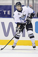 QMJHL (LHJMQ) hockey profile photo on Rimouski Oceanic Jan Kostalek October 6, 2012 at the Colisee Pepsi in Quebec city.