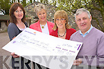 Pictured at the Beaufort Golf Club daffodil day coffee morning cheque presentation on Tuesday were Joan O'Donoghue, Julia Thompson, Katrina Breen and Timmy Moriarty.......